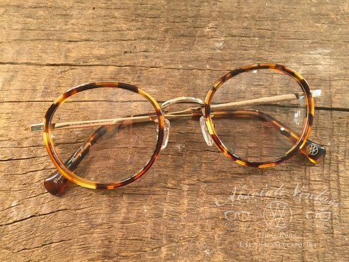 Absolute Vintage - Theatre Lane (theater) Immature pear-shaped retro glasses - Demi