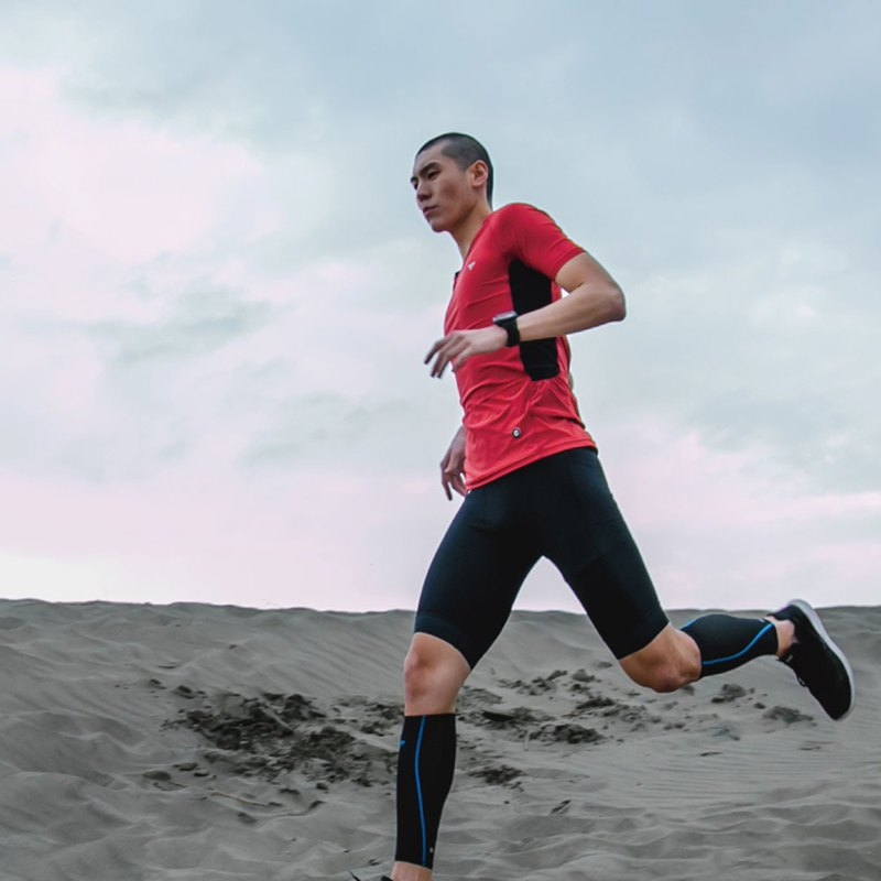 【SUPERACE】SA-TRAIL RUNNING TEE 2.0 / MEN / RED