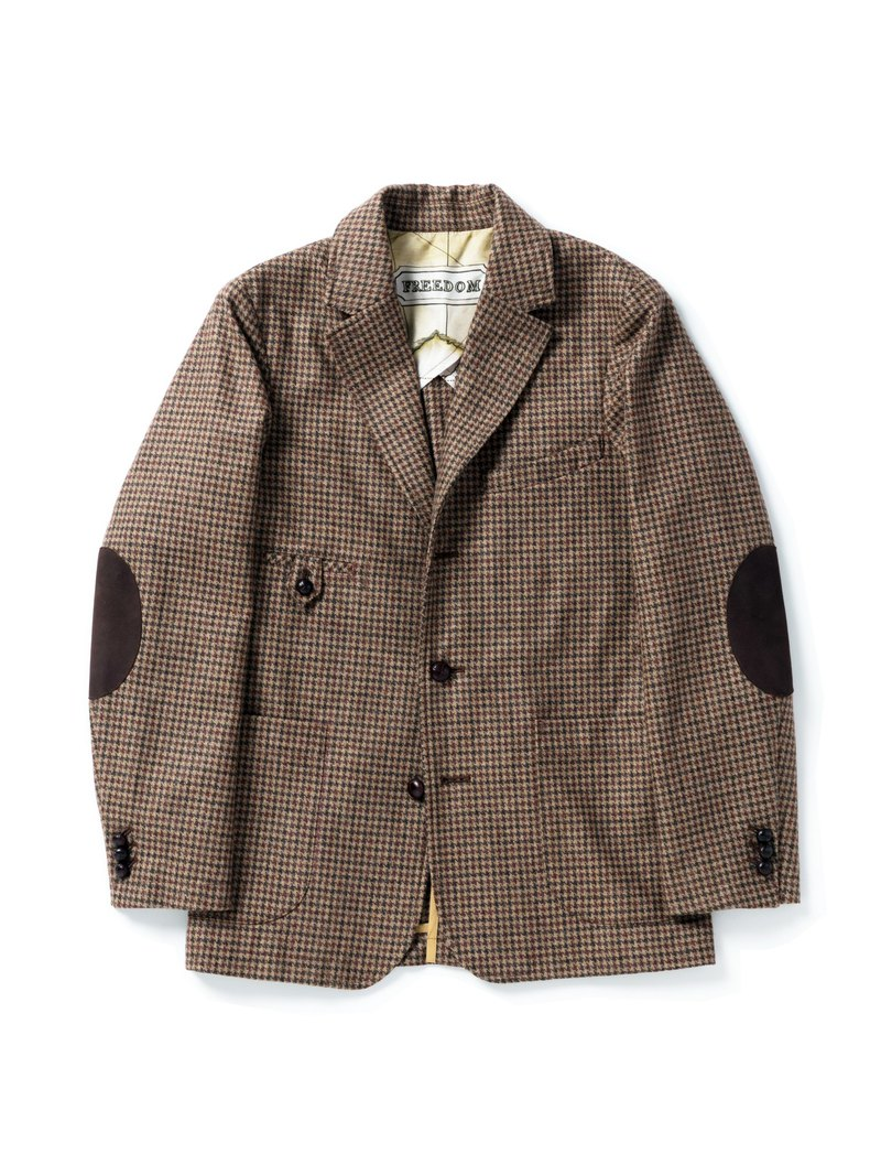 GAIA SPORT JACKET - HOUNDSTOOTH TWEED