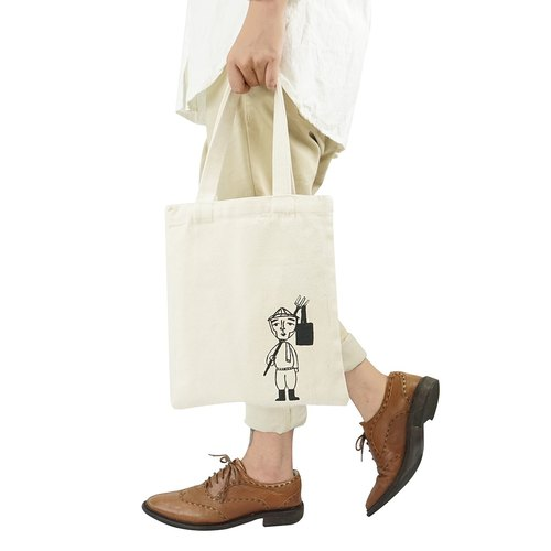 [Asabur double-sided series] A4 double-sided canvas bag a total of 8 models
