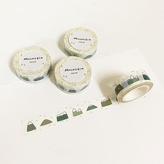 Circular round face man - wish / birthday postcard