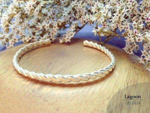 Twisted bracelet silver bracelet] [LBS1028 Hand for Boys hand ring girls bracelet