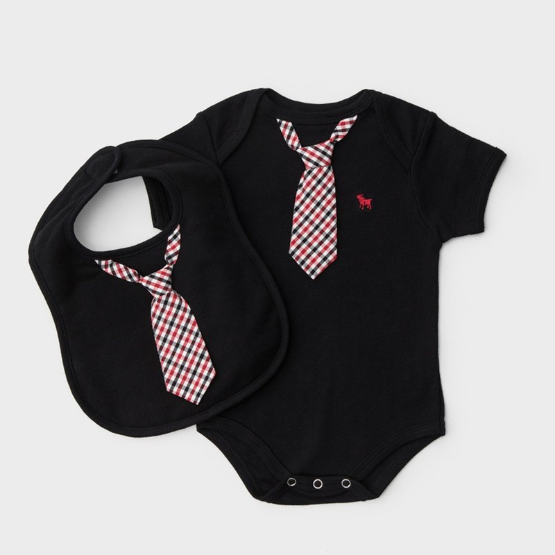 American Frenchie MC Baby Gift Box - Benedict Gentleman Edition (Medicalwear + Bib)