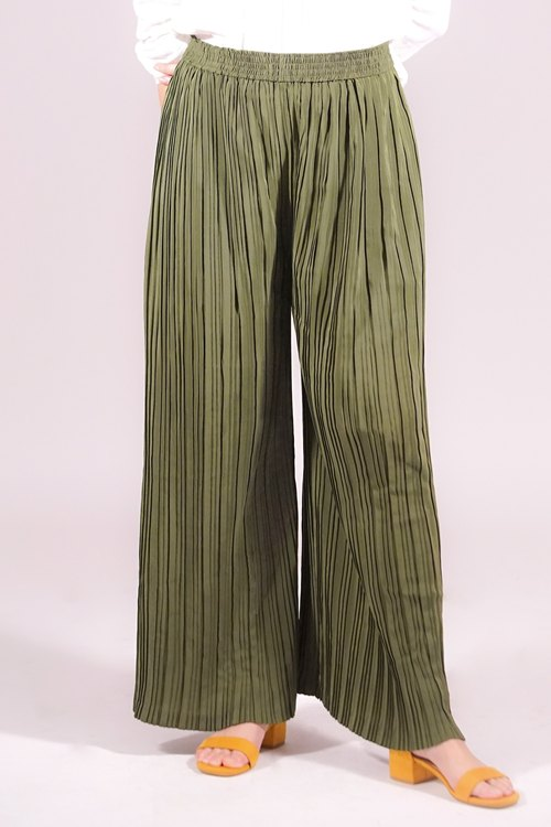 Long Pleated Pants (Unisex)