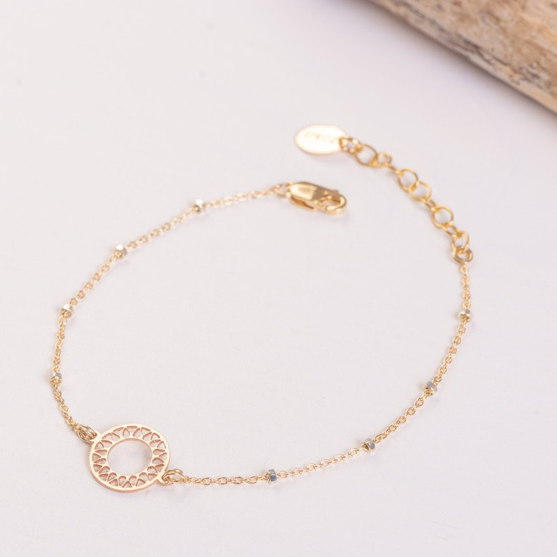 BRAZIL Bracelet 14k Gold-Filled