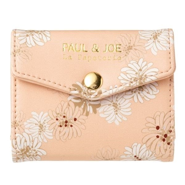 Mark's x PAUL & JOE Card Case【Chrysanthemum (PAJ-CC1-A)】2017SS Limited Edition