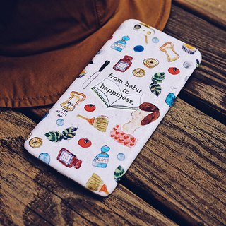 From habit to happiness iPhone case