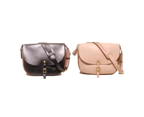 Saddle bag - Leather saddle bag