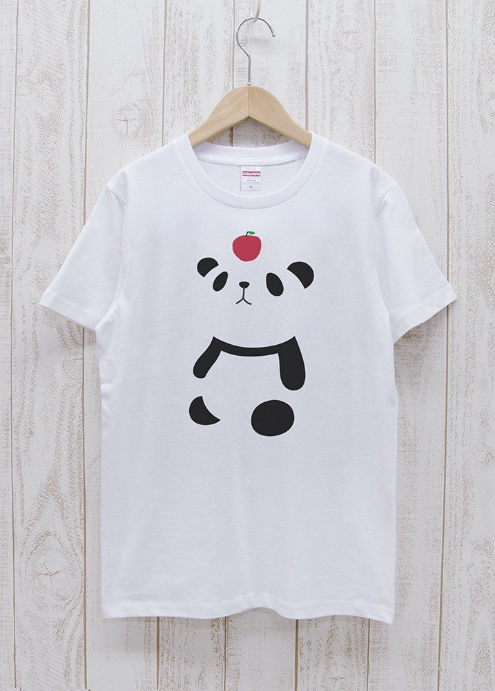 Knee Ten Zero Pan Tee Apple White / R002-T-WH