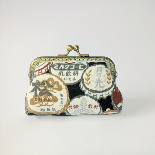 1987 Handmades 【】 retro bottle mouth bag purse wallet clutch bag