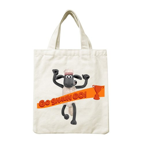 Shaun The Sheep - Hand Canvas Bag: [Go Shaun Go!], CA1AI07