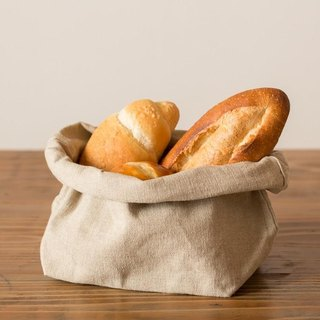 Bread basket (linen canvas bread bag)