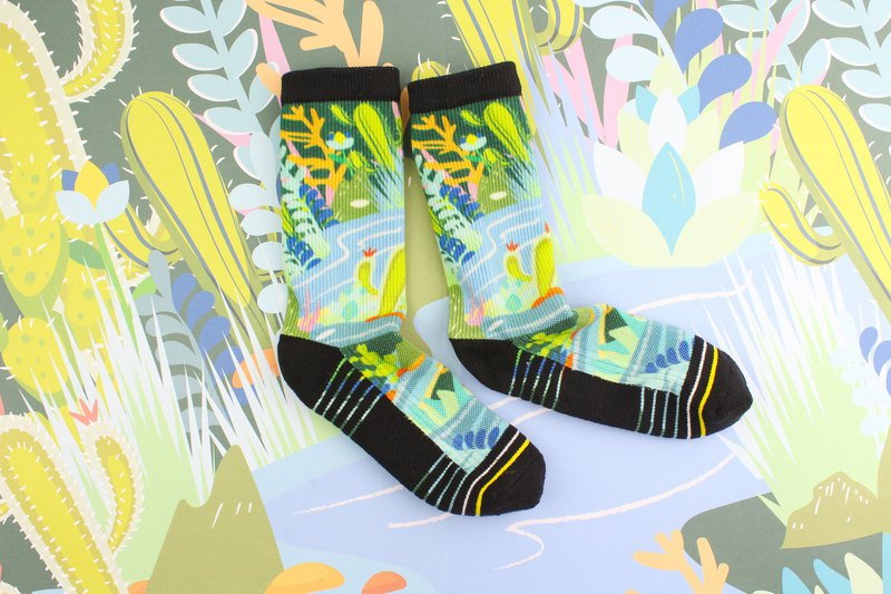 【Small garden】 2018 new socks / sports / tube socks