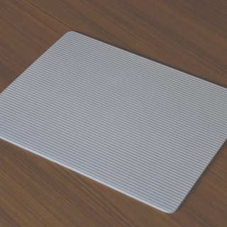 [UB straight into the dealership shop light-gray] Japan made diatomaceous earth foot pad absorbent bath mat