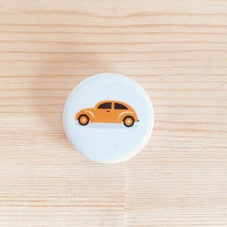 The cutest tortoise car badge badge