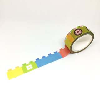 Small building paper tape