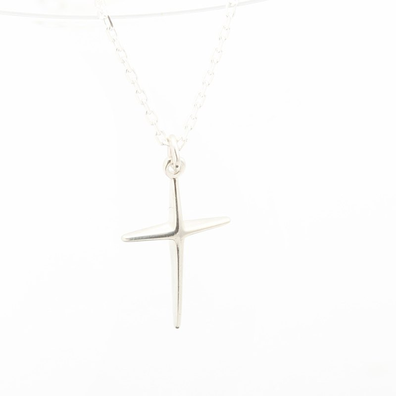 Cross of Hope Cross 925 sterling silver necklace Valentine's Day gift