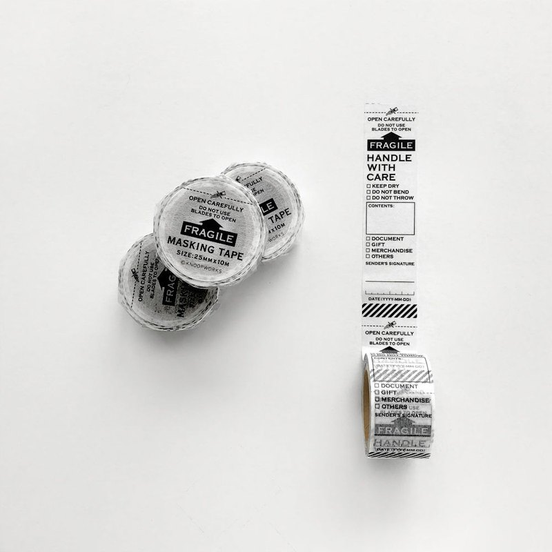 KNOOP WORKS Masking Tape (FRAGILE)