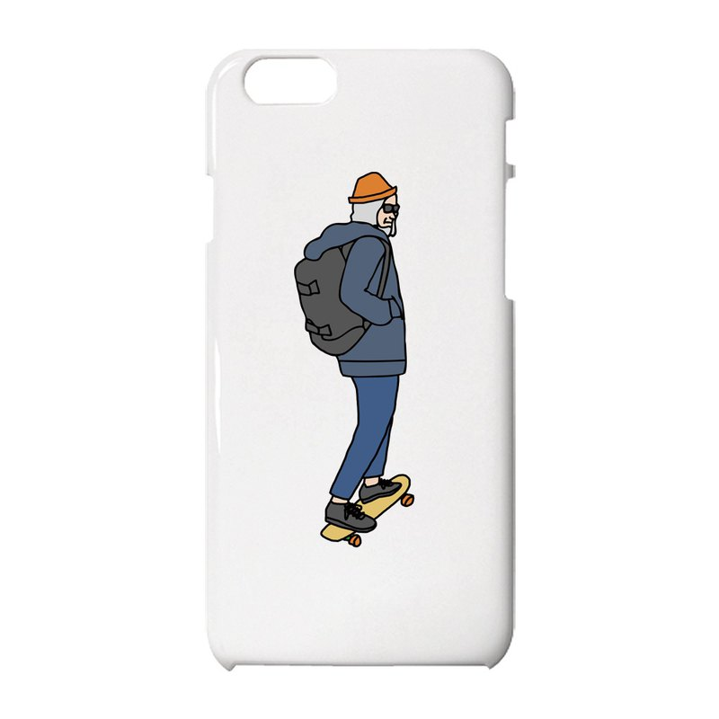 Old man #7 iPhone case