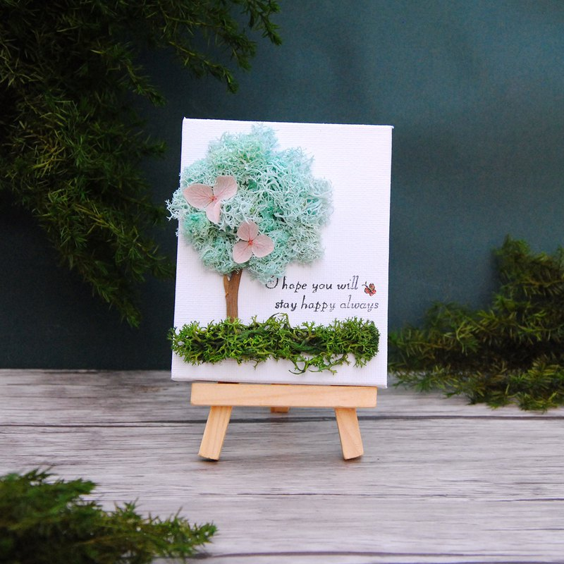 Miniature Gallery of Dry Flowers-Qingqing School Tree Valentine's Day Gift Graduation Gift Teacher's Day Gift