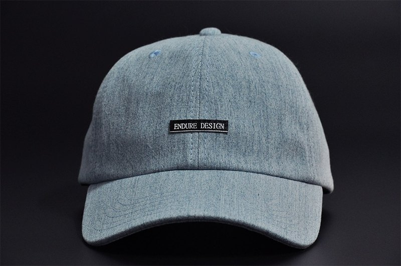 ENDURE brand design / light blue denim