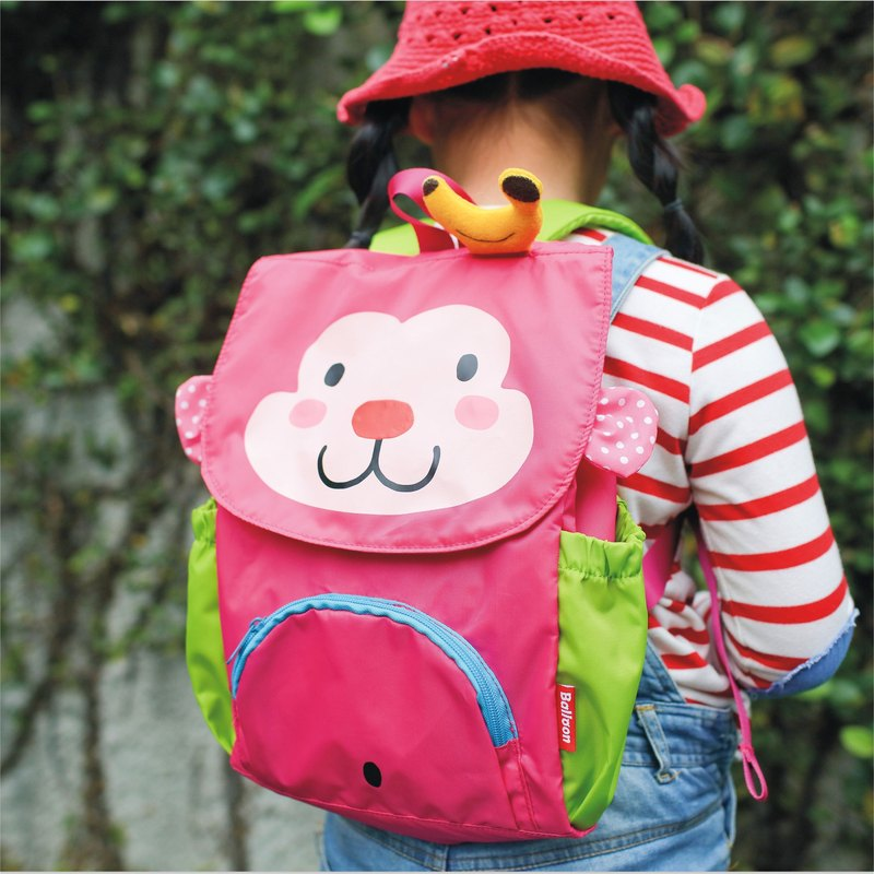 """Balloon"" Child waterproof, lightweight backpack - Banana Monkey"