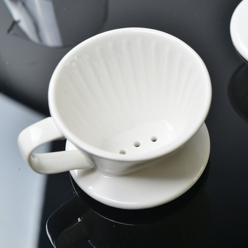 Japan's Mulberry elfin enamel coffee filter cup-L