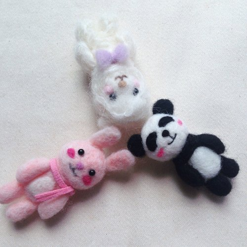 Cute little animal ornaments