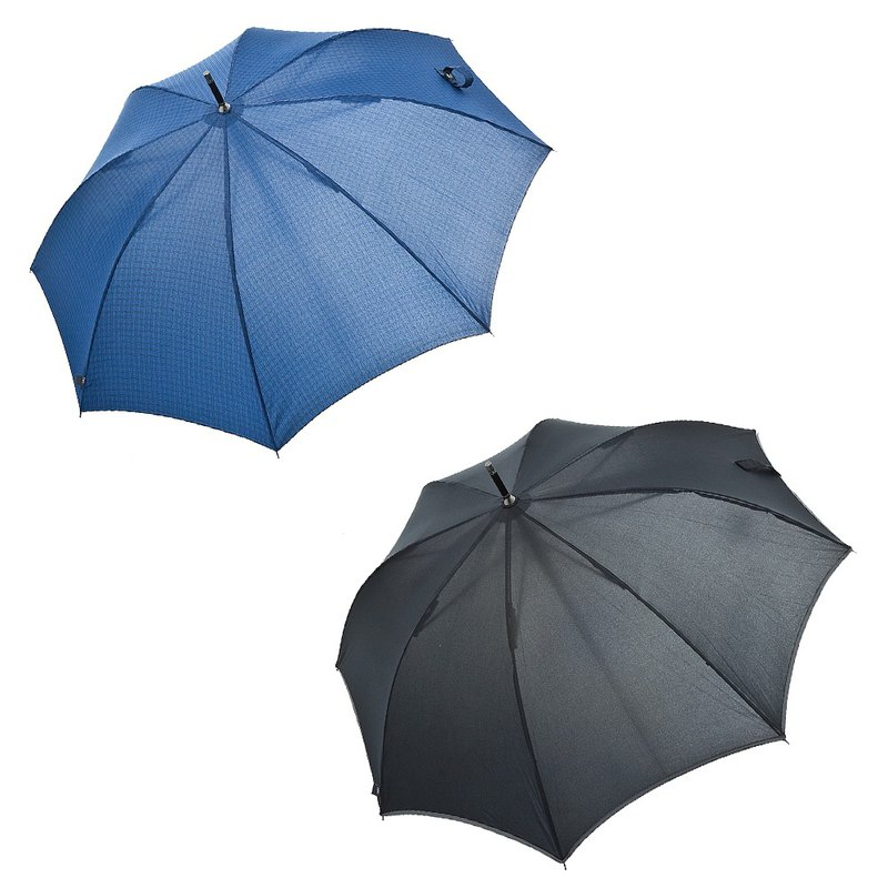 [Italian H.DUE.O] gentleman anti-UV straight bone umbrella
