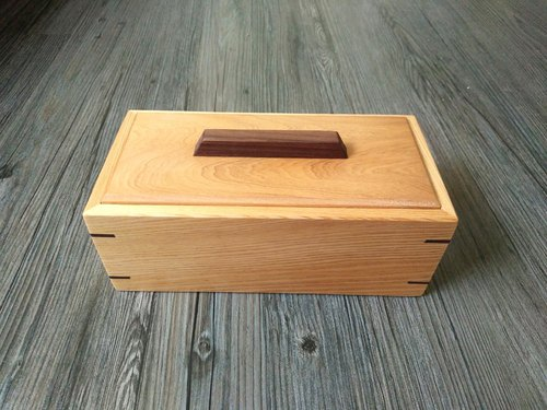 Handmade Taiwan Elm Small Storage Box