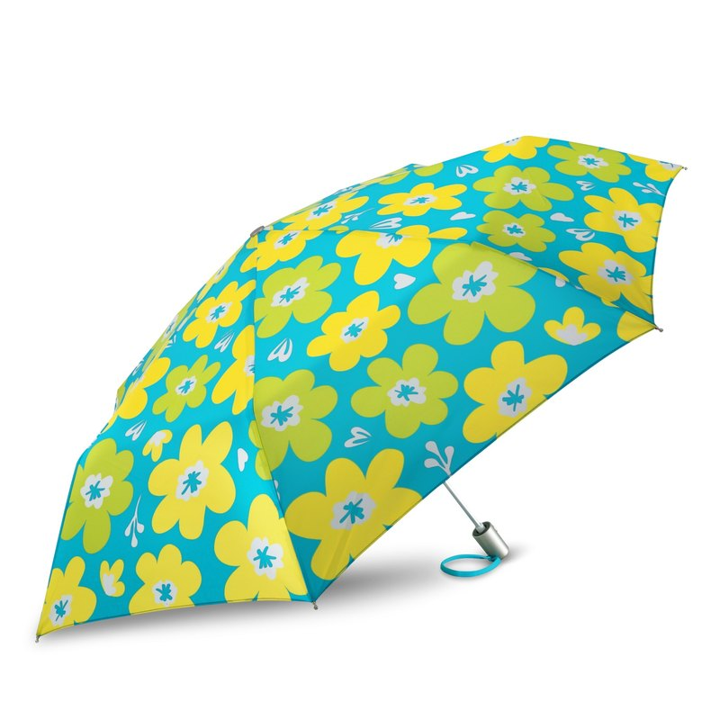 Ultra Lightweight Auto Open Close Umbrella - Flora