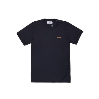 oqLiq - one way T-shirts - Black Cotton