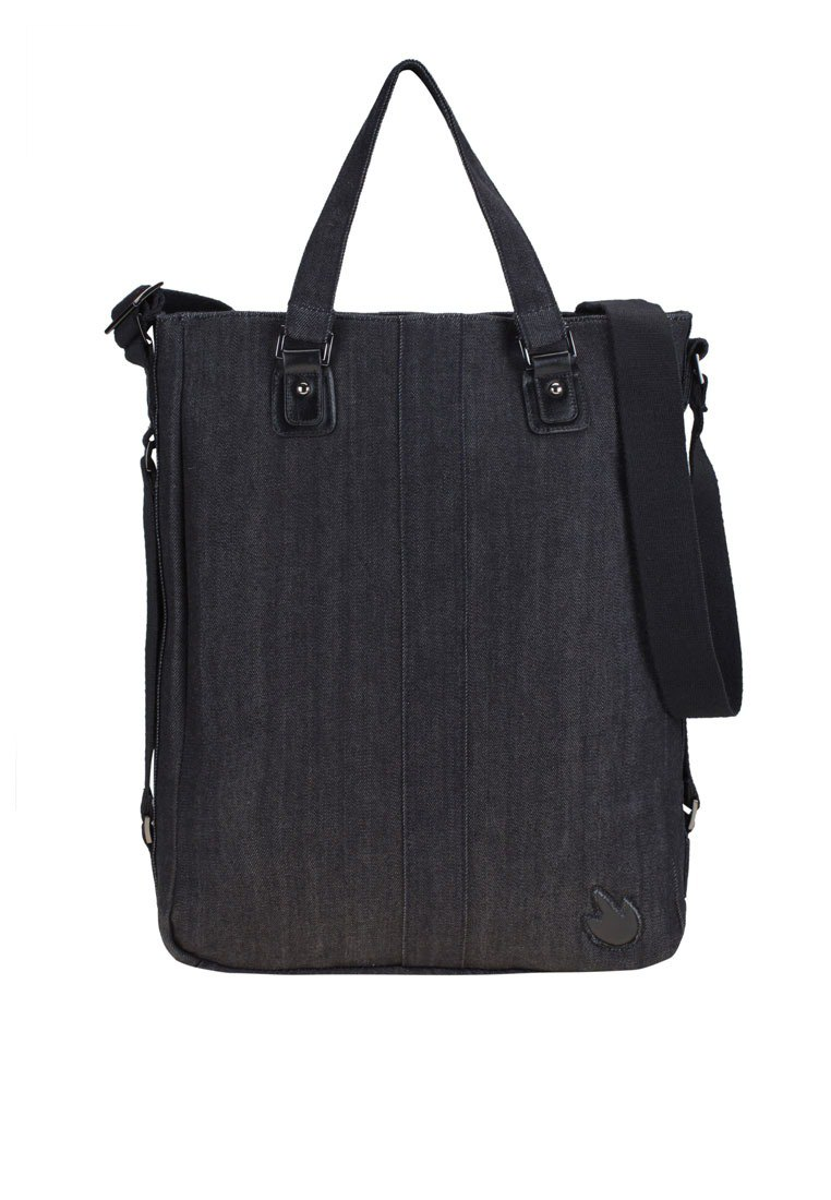 Denim bag With handles and sash Suitable for loading documents