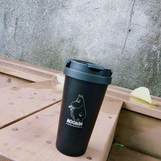 Moomin 噜噜米 authorized - coffee accompanying cup (black)