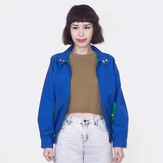 Blue khaki retro jacket jacket BM3017
