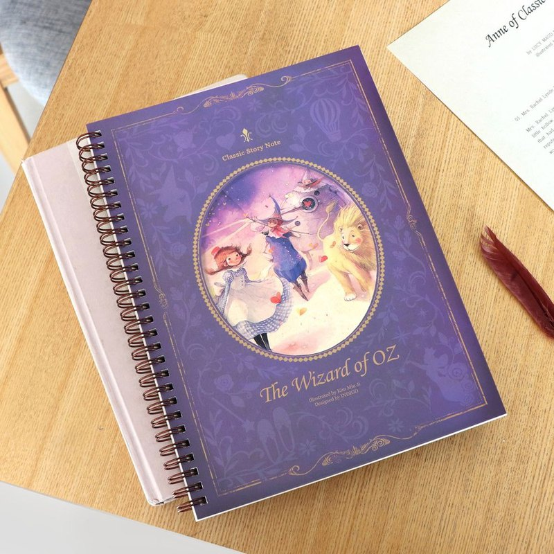 Indigo World Fairy Circle Ring Notebook - Wizard of Oz, IDG75560