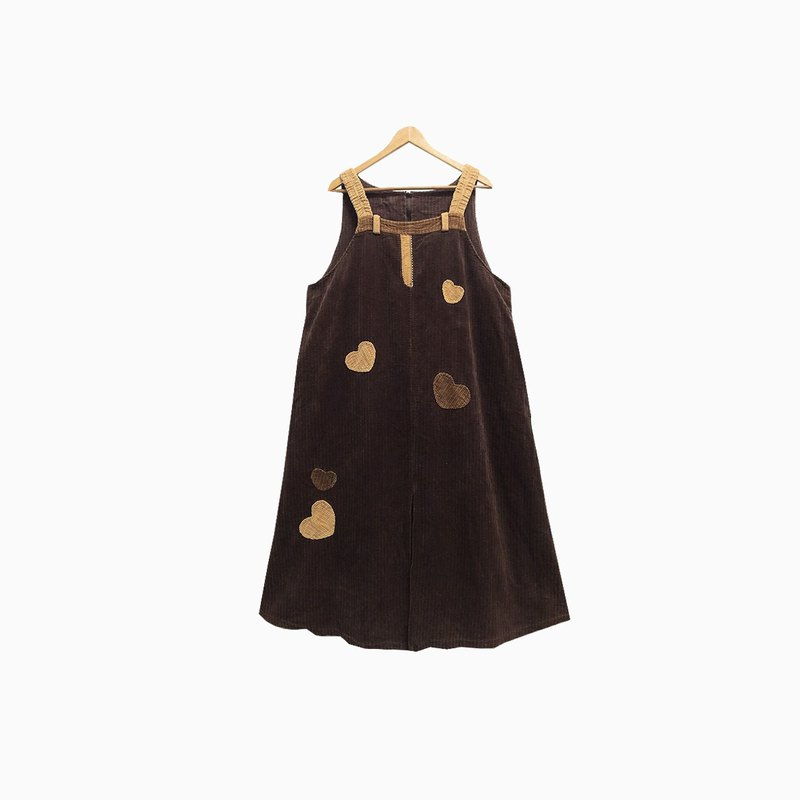 Dislocated Vintage / Corduroy Tank Dress no.265 vintage