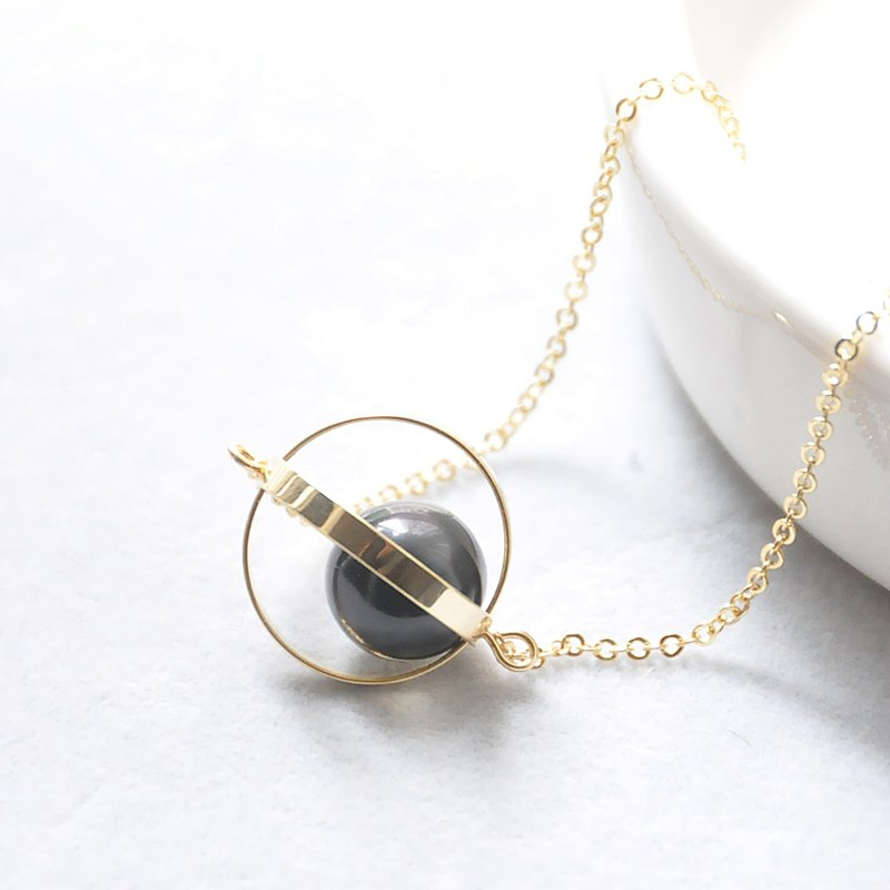 Guarding the planet. universe. Golden Circle. obsidian. Necklace Guardian Planet. Galaxy. Golden Ring. Obsidian. Necklace. birthday present. Girlfriend gift. Sister gift