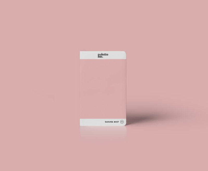 001 Sakura Mist - Palette Me Mini Notebook Hard Cover A6