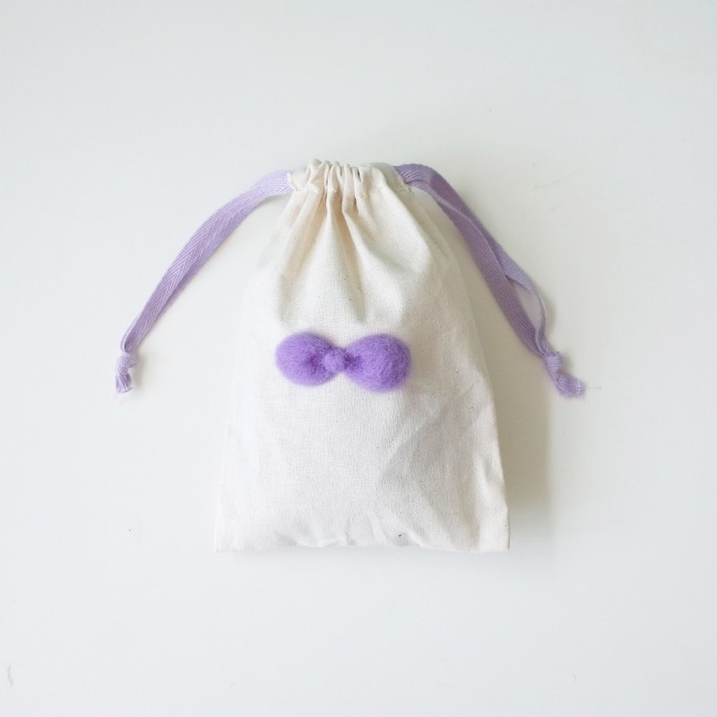 [Q-cute] small bundle pocket series - macaron bow