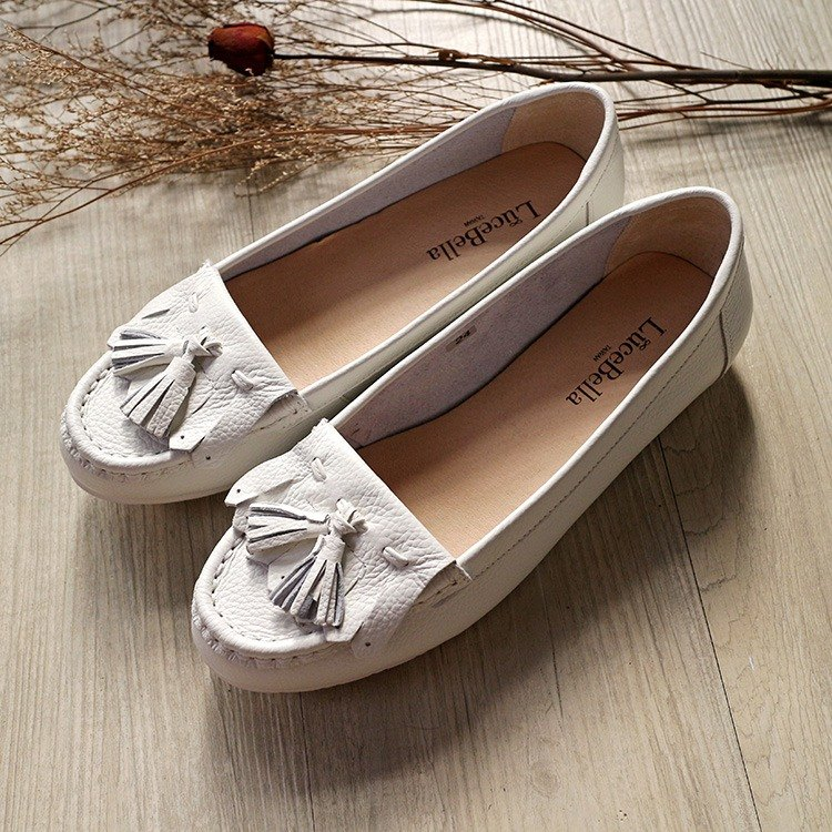 [Love afternoon] Wild Tassel Flats - white