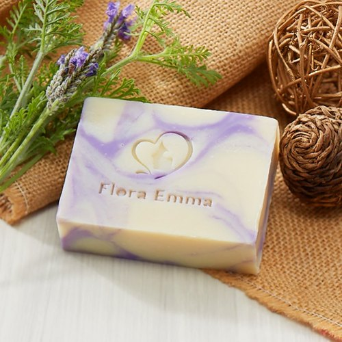 Marseille Lavender Moisturizing Soak * Kid / Sensitive Muscle - Emma Handmade Soap Expert