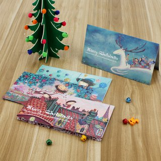 Stephy fruit literary small fresh fashion tide Christmas card set S-GC005