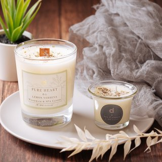 [Clear Heart (Lemon Verbena)] Pure Heart (Lemon Verbena) Fragrance Lotion Candle