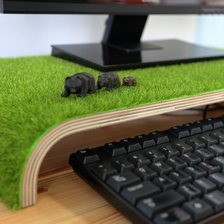 【OSHI】Grass Monitor Stand