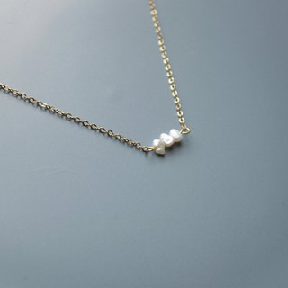 Fish bone - necklace
