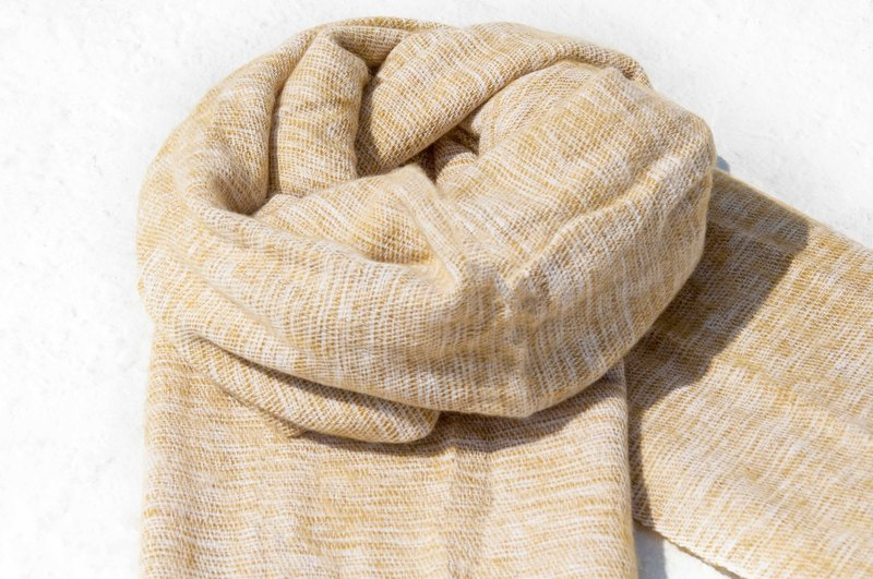 Pure wool shawl / knit scarf / knitted shawl / blanket / pure wool scarf / wool shawl - mango
