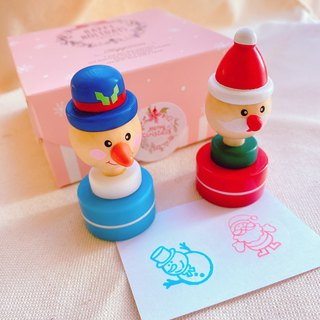 Christmas stamper with ink