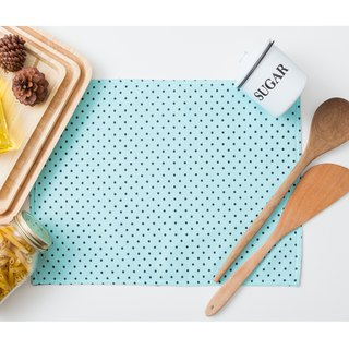 Placemat -  Dot Mint