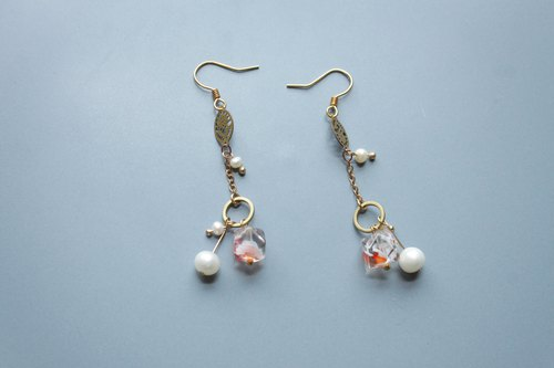 │ Ice Fruit│ Earrings - Kumquat